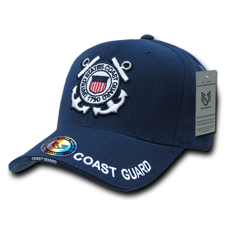 Coast Guard Baseball Hat - Rapid Dominance US Coast Guard USCG Official Legend Branch Baseball Hats Caps