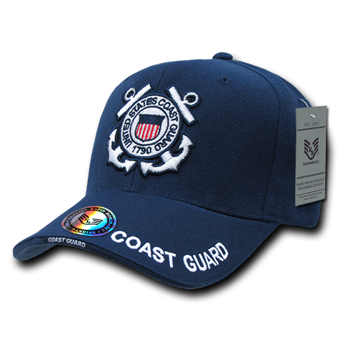 Rapid Dominance US Coast Guard USCG Official Legend Branch Baseball Hats Caps