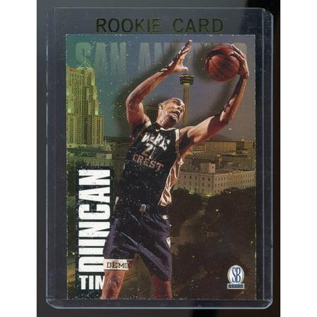 1997 Score Board Draft Day #1A Tim Duncan Rookie Card Near