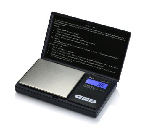 AMW SERIES 250 X 0.1G BLACK