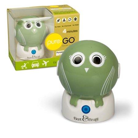 Bert & Bratt BBBUVS01 UV Sanitizer Baby Bottles & Pacifiers Sterilizer, Green Owl