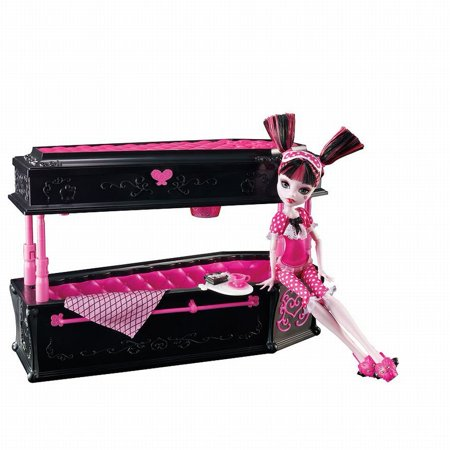 Monster High Draculaura Doll & Jewelry Box Coffin Set - Who Sells Monster High Clothes