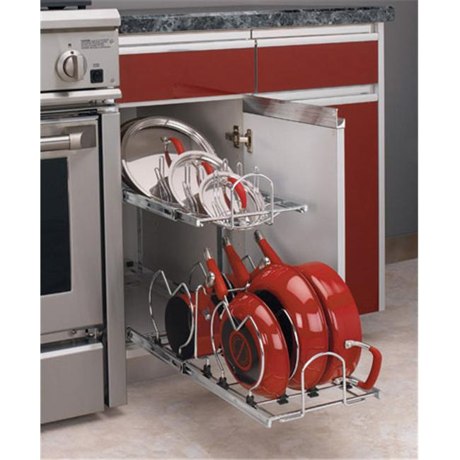 Rev-A-Shelf RS5CW2.1222.CR Rev-A-Shelf Two Tier Cookware Organizer