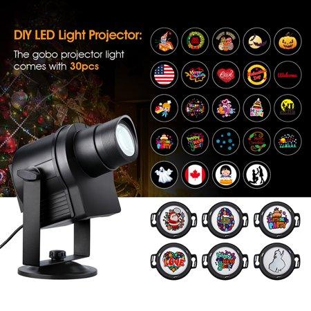 Suaoki LED Light Projector Outdoor Garden Spotlight Waterproof Landscape Lamp