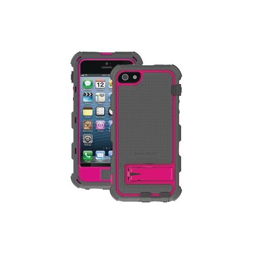Ballistic BALLISTIC HC0956-M115 iPhone 5 v6 HC Series Case with Holster (Charcoal TPU Raspberry PC Charcoal Silicone)...