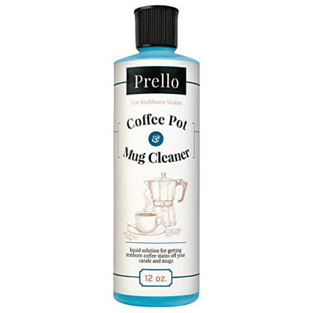 Prello Coffee Pot and Mug Cleaner | Removes Stains from Carafes, Mugs, and Machines