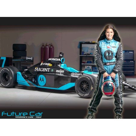 Danica Patrick Sexy Racing Driver Silk Fabric Cloth Poster Picture Painting Art Wall Home Decor 17  X 13