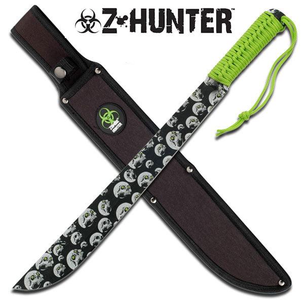 Zombie Hunter Combat Survival Fight Machete Sword Knife by Z-Hunter