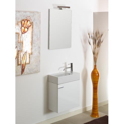Scarabeo Iotti by Nameeks Lola 21'' Single Wall Mounted Bathroom Vanity Set with Mirror