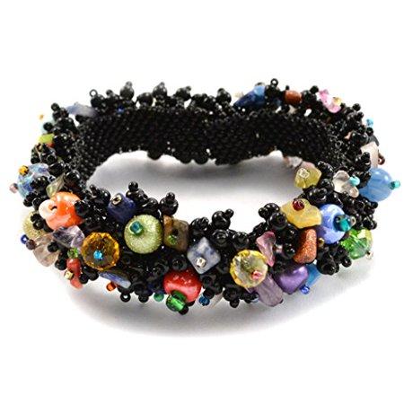 Global Craft Magnetic Beach Ball Caterpillar - Black - Lucias Imports (J)