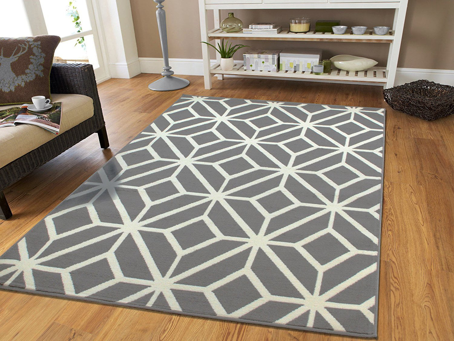 Prime Large Gray Moroccan Trellis 8X11 Area Rugs For Living Room Grey Dining Room Rug For Under The Table Download Free Architecture Designs Grimeyleaguecom