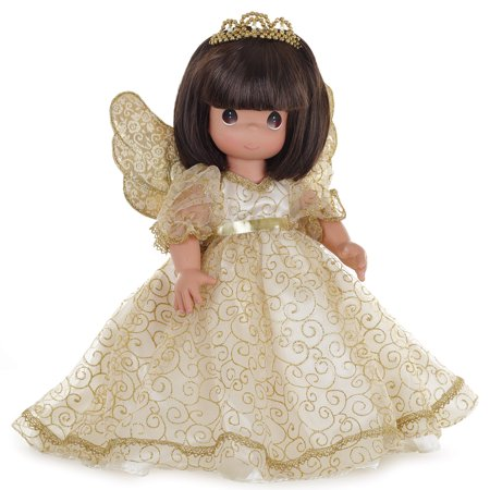 Precious Moments Dolls by The Doll Maker, Linda Rick, Angelic Whispers from Heaven, Brunette, 12 inch doll