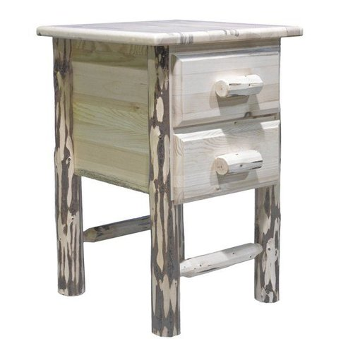 MWN2DN Montana Nightstand with Two Drawers