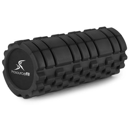 ProsourceFit Sports Medicine Foam Roller (33 cm x 15 cm) with 2 Density Zones for Deep-Tissue Massage and Trigger-Point Muscle Therapy,
