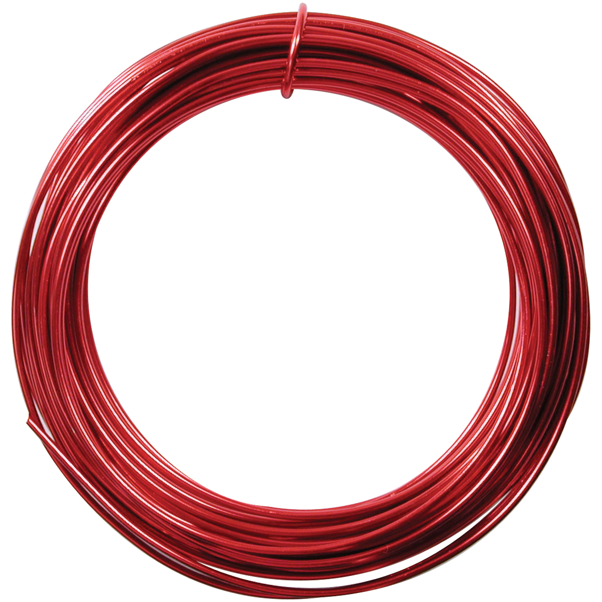 Aluminum Wire, 12 Gauge, 39' Coil, Red