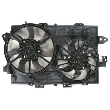 Go-Parts OE Replacement for 2006 - 2008 Pontiac Torrent Engine / Radiator Cooling Fan Assembly - (3.4L V6) 19130470 GM3115204 Replacement For Pontiac Torrent (2006 Pontiac Torrent Thermostat)