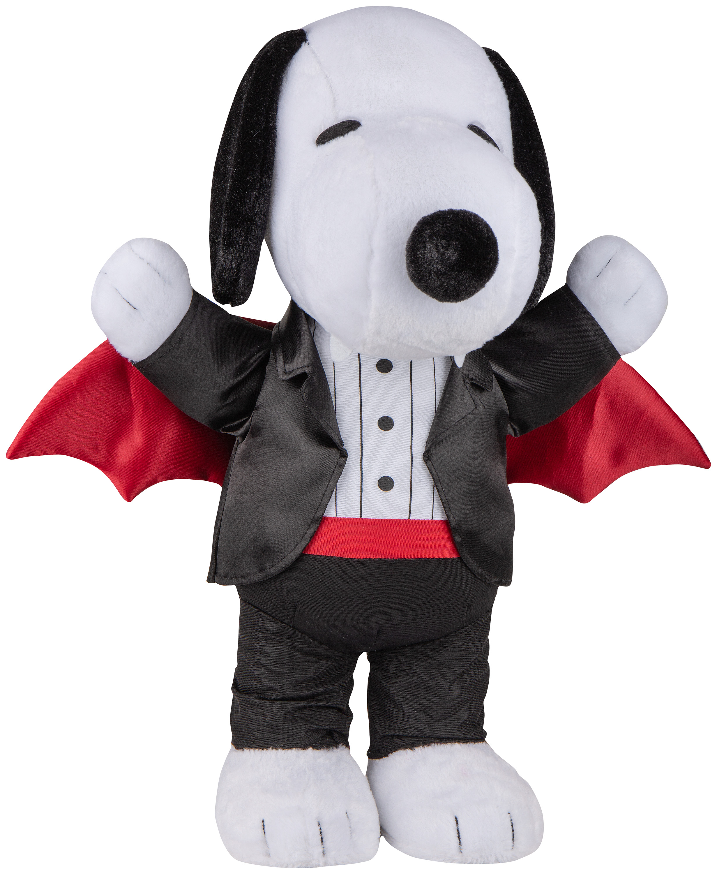 21-in Height Halloween Greeter Snoopy as Vampire Peanuts Deals