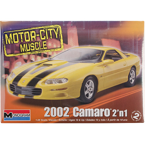 Motor-City Muscle 2002 Camaro Revell Monogram 1:25 Scale Model Kit (2 in 1) by Monogram