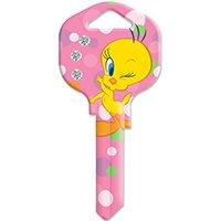KW1 Tweety Bird with Bling Key Blank
