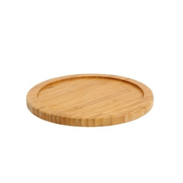 Greenco Bamboo Lazy Susan Turntable 13 Inch Diameter