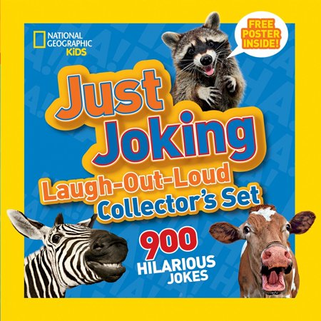 National Geographic Kids Just Joking Laugh-Out-Loud Collector's Set : 900 Hilarious Jokes