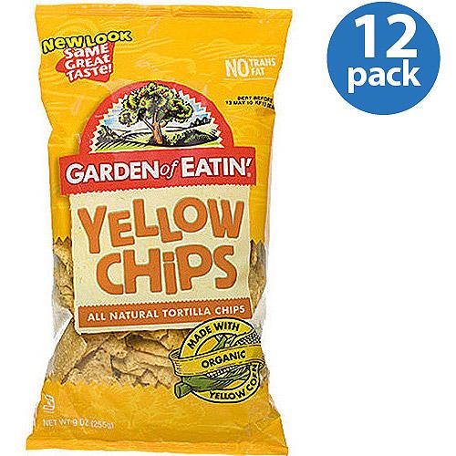 Garden of Eatin' Yellow Corn Tortilla Chips, 16 oz (Pack of 12)