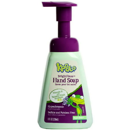 - Kandoo Wash Your Hands Moisturizing Foam Hand Soap, Magic Melon Scent 8.40 oz