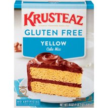 Baking Mixes: Krusteaz Gluten Free Yellow Cake Mix