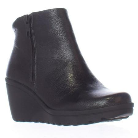 ea22f05d8f4 naturalizer - Womens naturalizer Quineta Wedge Ankle Booties - Black -  Walmart.com