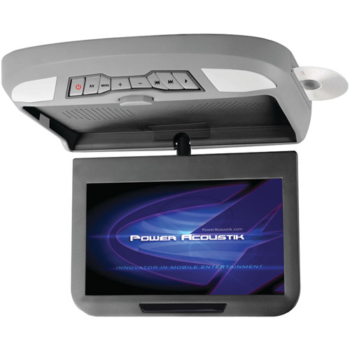 """Power Acoustik Pmd-102x 10.1"""" Ceiling-Mount Swivel Monitor With DVD"""