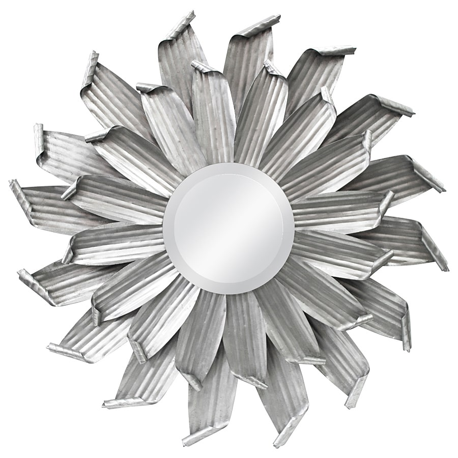 MCS Industries Industrial Daisy Round Mirror by Overstock