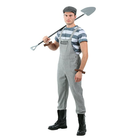 Men's Chain Gang Prisoner Costume - Mens Prisoner Costume