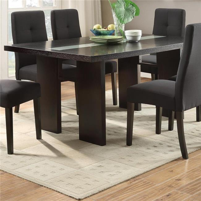 Benzara BM171303 30 X 66 X 40 In. Wooden Dining Table   Brown