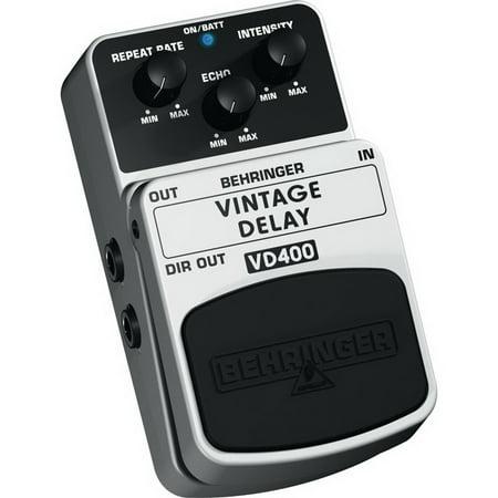 - Behringer VD400 Vintage Analog Delay Effects Pedal