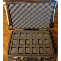 Pelican Case 1470 Custom Foam Insert for 18 Watches (FOAM ONLY)