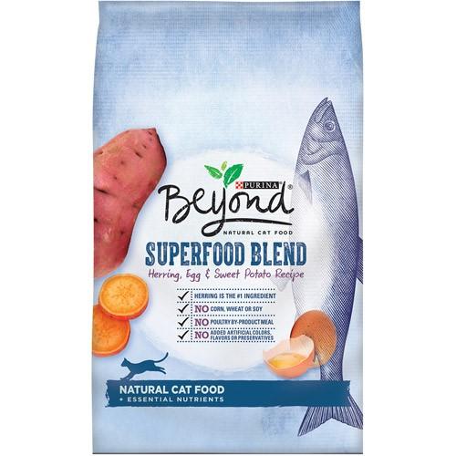 Purina Beyond Superfood Blend Herring Egg & Sweet Potato Recipe Cat Food 6 lb