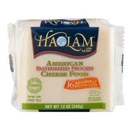 Haolam American Pasteurized Process Cheese Food, 12 oz ...