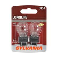 Sylvania 3157 Long Life Halogen Auto Mini Bulbs, Pack of 2.
