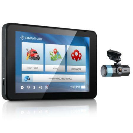 Refurbished Rand McNally IntelliRoute TND 540LM with Dash Cam 100 Truck GPS with DashCam ()