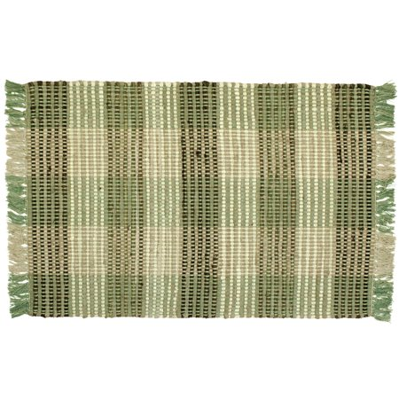 Booker Plaid Cotton Area Rag Rugs 2 X 3 Bathroom Kitchen