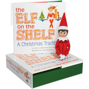 The Elf on the Shelf : A Christmas Tradition (Blue-Eyed Girl)