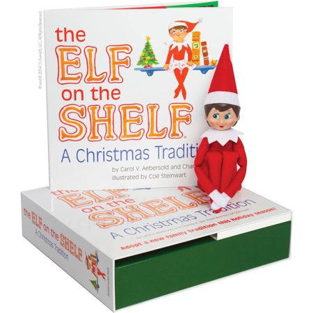 the elf on the shelf a christmas tradition blue eyed. Black Bedroom Furniture Sets. Home Design Ideas