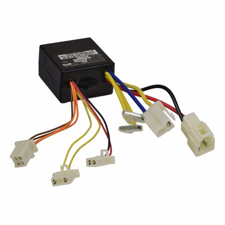 - ZK2400-DP-LD (ZK2400-DP-FS) Control Module with 4-Wire Throttle Connector for the Razor E100/E125 (Versions 10+), E150, E175, and Trikke E2 Scooters