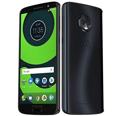 Motorola Moto G6 Plus (64GB, 4GB RAM) XT1926-6 - 5.9 FHD Display, Single Sim, 4G LTE Factory Unlocked Smartphone International Model (Deep Indigo)