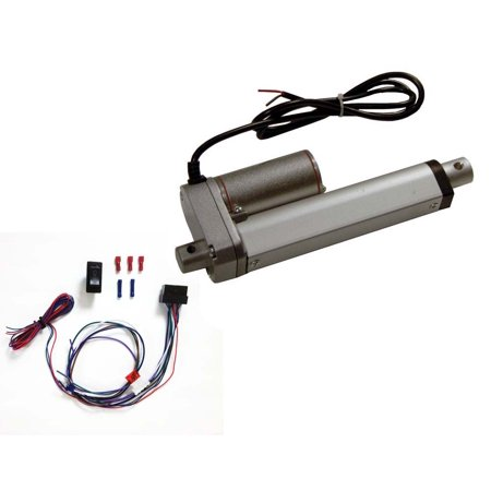Wastegate Actuator Kit - 4 Inch Linear Actuator Kit:12-v w/ 225 lbs max load:Includes Wiring Switch Kit