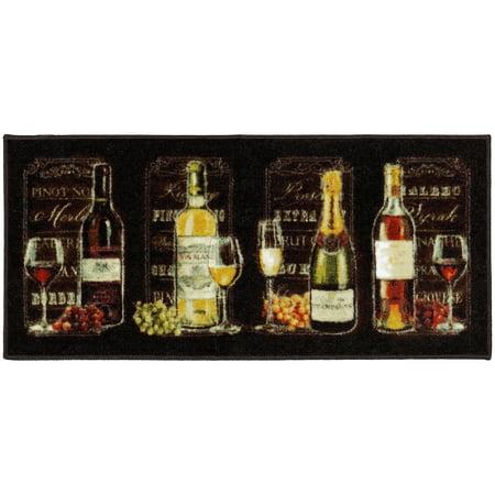 New Wave Chalkboard Sign Kitchen Mat, Multiple (Single Matboard)