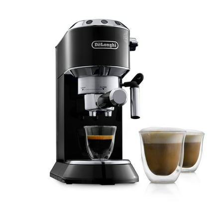 Machine System - De'Longhi Dedica EC680 15 Bar Stainless Steel Slim Espresso and Cappuccino Machine with Advanced Cappuccino System