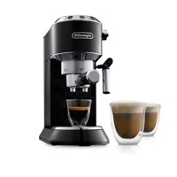 De'Longhi Dedica EC680 15 Bar Stainless Steel Slim Espresso and Cappuccino Machine with Advanced Cappuccino System