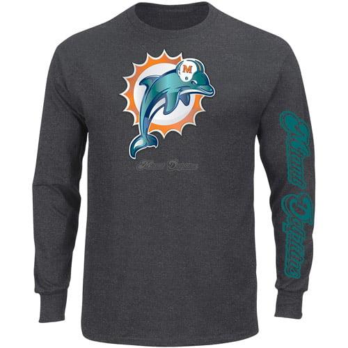 NFL - Men's Miami Dolphins Long Sleeve Team Tee
