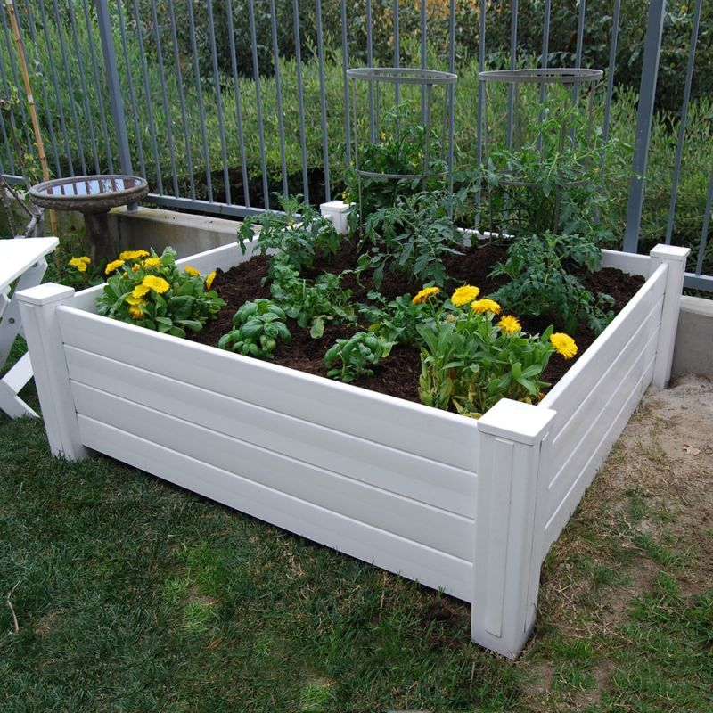 NuVue Raised Garden Box 48L 48W 15H